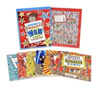 Where's Wally? Wow (Paperback 6권 + 80pieces 퍼즐 )