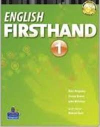 English Firsthand Sbk 1 (Hardcover, 4)