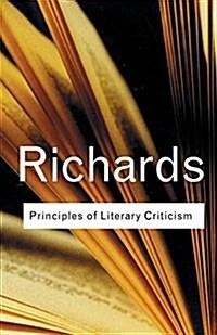 Principles of Literary Criticism (Paperback)