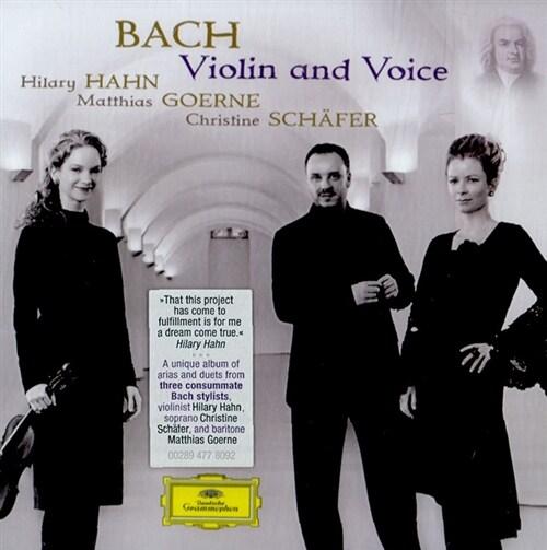 [수입] 바흐 : 바이올린과 목소리