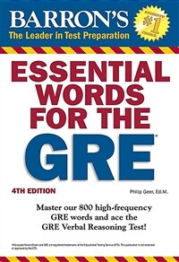 Essential Words for the GRE (Paperback, 4)