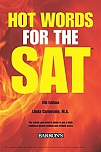 [중고] Hot Words for the SAT Ed (Paperback, 6)