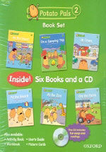 Potato Pals 2: Book Set with Audio CD (Package)