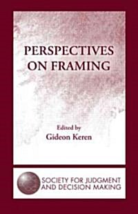 Perspectives on Framing (Hardcover)