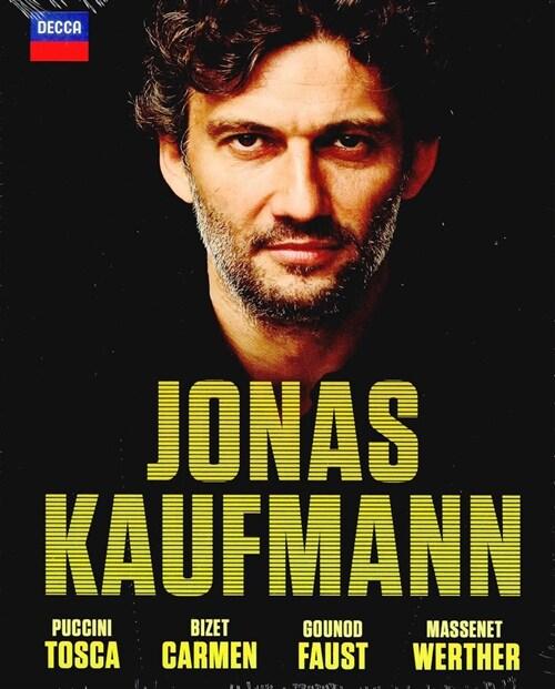 [수입] [블루레이] 요나스 카우프만 - 4개의 오페라 [토스카, 파우스트(한글자막), 카르멘, 베르테르]
