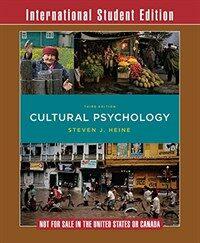 Cultural Psychology (Paperback, 3 Student ed)