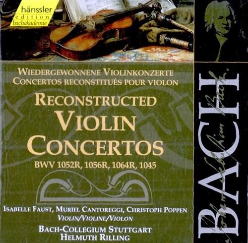 [수입] 바흐 : 바이올린 협주곡