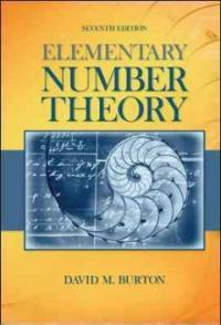 Elementary number theory 7th ed