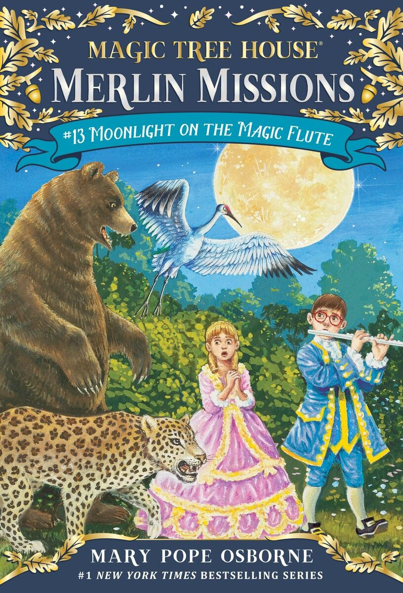 Merlin Mission #13 : Moonlight on the Magic Flute (Paperback)