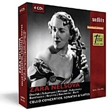 [수입] 자라 넬소바가 연주하는 첼로 작품집 [4CD]