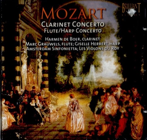 [수입] 모차르트 : 클라리넷 협주곡 & 플룻과 하프를 위한 협주곡
