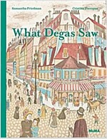 What Degas Saw (Hardcover)