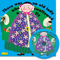 노부영 마더구스 세이펜 There Was an Old Lady Who Swallowed a Fly (Paperback+CD)
