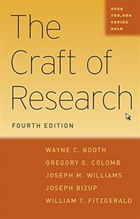 The craft of research / 4th ed