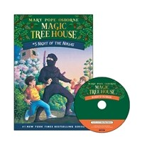 Magic Tree House #05 : Night of the Ninjas (Paperback + CD)