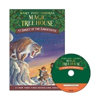 Magic Tree House #07 : Sunset of the Sabertooth (Paperback + CD)