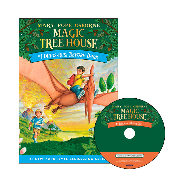 [중고] Magic Tree House #01 : Dinosaurs Before Dark (Paperback + CD)