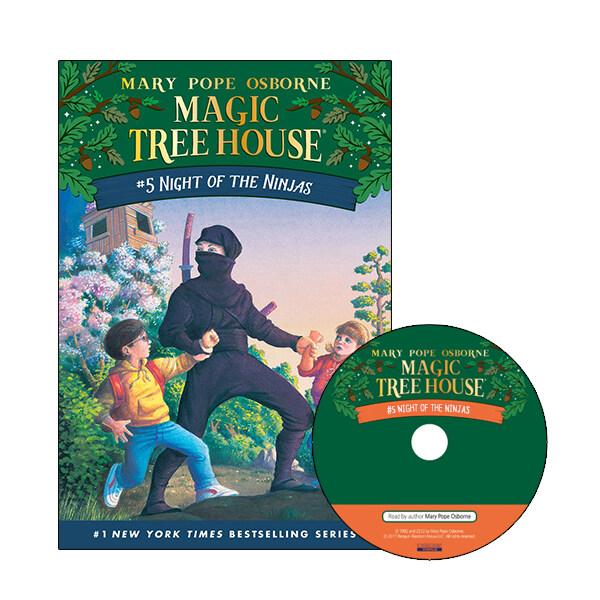 Magic Tree House #05 : Night of the Ninjas (Paperback + CD)