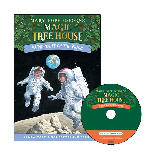 Magic Tree House #08 : Midnight on the Moon (Paperback + CD)