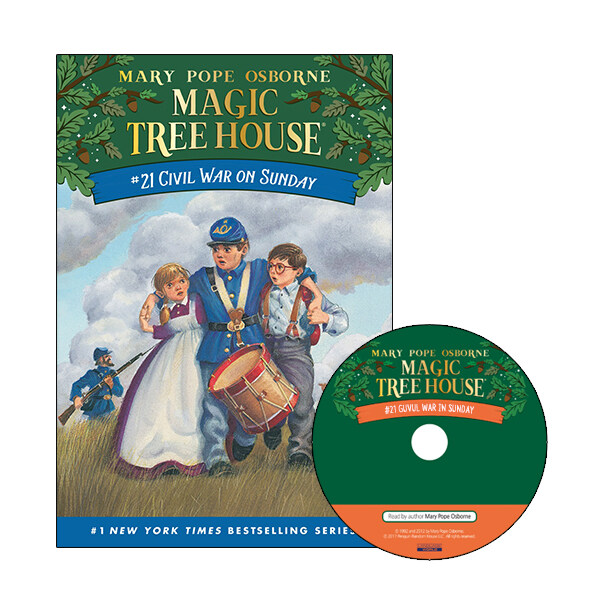 Magic Tree House #21 : Civil War on Sunday (Paperback + CD)