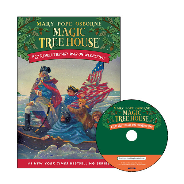 Magic Tree House #22 : Revolutionary War on Wednesday (Paperback + CD)