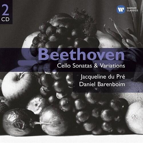 [수입] 베토벤 : 첼로 소나타 & 변주곡 [2CD]