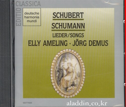 [수입] Schubert, Schumann - Lieder / Elly Ameling, Jorg Demus