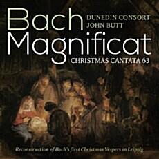[수입] 바흐 : 마그니피카트, 크리스마스 칸타타 BWV 63 [SACD Hybrid]