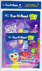 Disney Fun to Read 1 : Welcome to Headquarters (Paperback + workbook + Audio CD)