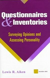 Questionnaires and inventories : surveying opinions and assessing personality