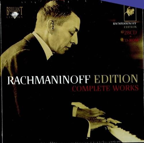 [수입] 라흐마니노프 전집 [28CD 한정반+CD-Rom]