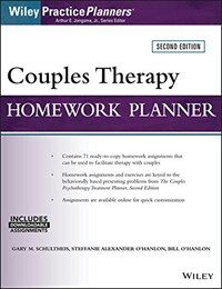 Couples therapy homework planner / 2nd ed