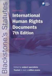 Blackstone's international human rights documents 7th ed