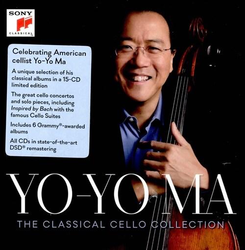 [수입] 요요 마 - 클래시컬 첼로 컬렉션 [15CD]