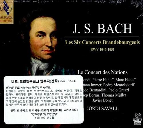 [수입] 바흐 : 브란덴부르크 협주곡 전곡 [SACD Hybrid 2 for 1]