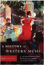 A History of Western Music. (Paperback, 8, Revised)