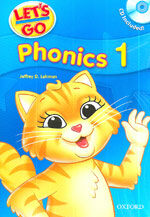 Let's Go: 1: Phonics Book with Audio CD Pack (Package)