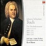 [수입] J.S Bach - Violin Concertos / Karl Suske, Kurt Masur
