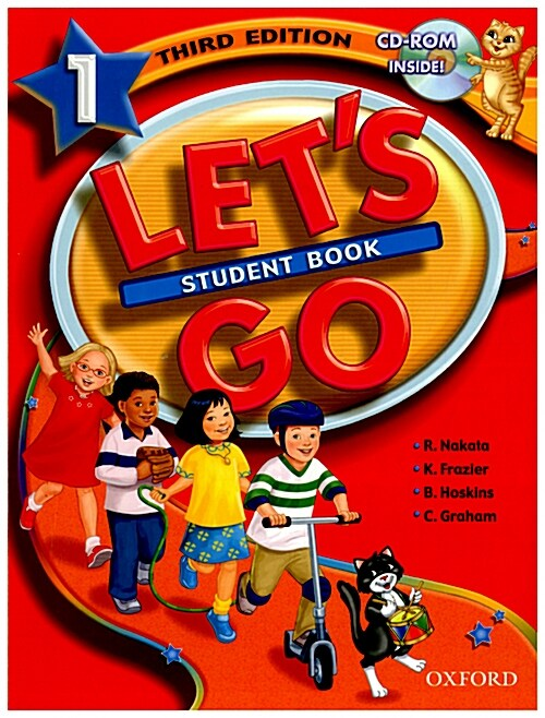 Lets Go: 1: Student Book with CD-ROM Pack (Package)