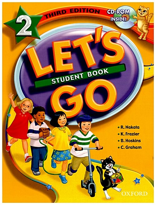 Lets Go: 2: Student Book with CD-ROM Pack (Package)