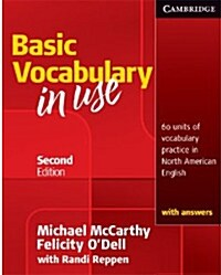 Vocabulary in Use Basic Students Book with Answers (Paperback, 2 Revised edition)