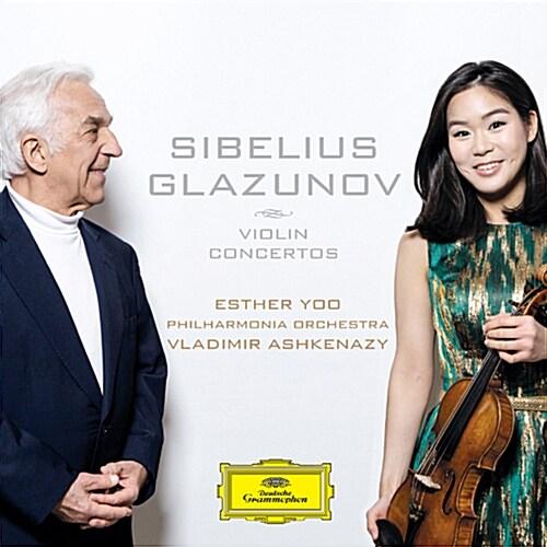 시벨리우스 : 바이올린 협주곡 Op. 117 / 글라주노프 : 바이올린 협주곡 Op. 82