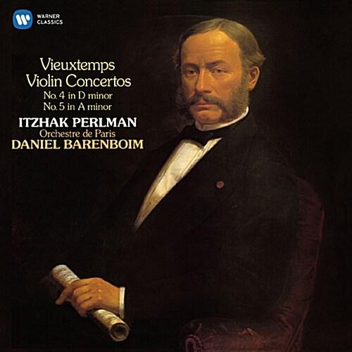 [수입] 펄만 18집 - 비외탕 : 바이올린 협주곡 4, 5번