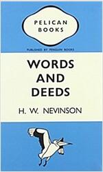 Words & Deeds Notebook (Penguin Notebooks) (Paperback)