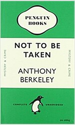 Not to Be Taken Notebook (Penguin Notebooks) (Paperback)