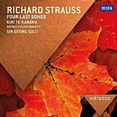 [수입] R.슈트라우스 : 4개의 마지막 노래 & 말러 : 방황하는 젊은이의 노래 외