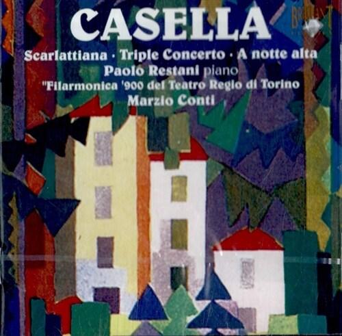 [수입] 카셀라 : 피아노와 오케스트라를 위한 작품집