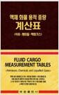 액체 화물 용적 중량 계산표