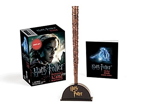 Harry Potter Hermiones Wand with Sticker Kit: Lights Up! (Novelty)