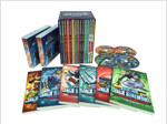 Jack Stalwart #1~14 세트 (Paperback 14권 + CD 28장)